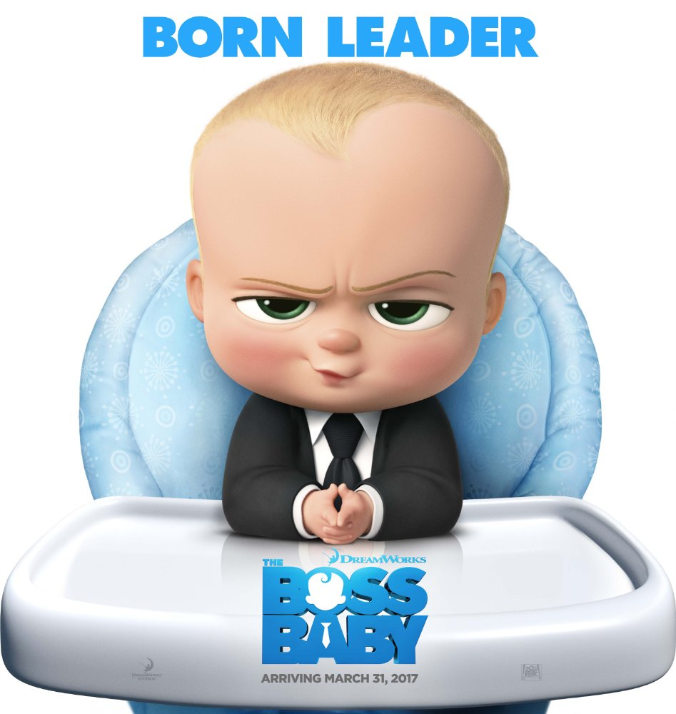 "Póster ""El bebé jefazo"""