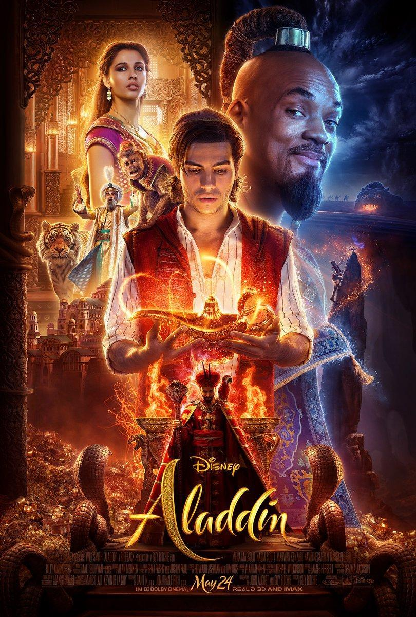 Póster película Aladdin