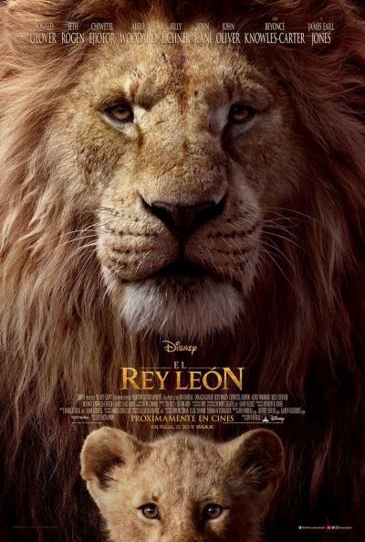 Póster Película El Rey Leon